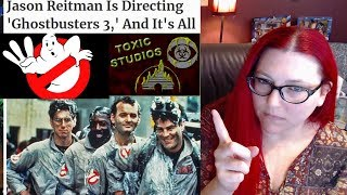 MEDIA ALREADY ATTACKING FANS 1 DAY AFTER GHOSTBUSTERS 3 IS ANNOUNCED!