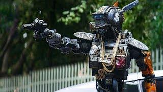 Чаппи учится угонять машины / Робот по имени Чаппи (2015)