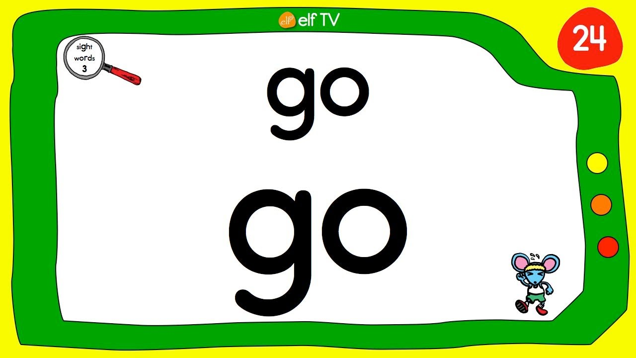 Sight Words Collection - Video 3 of 4 - ELF Learning - ELF ...