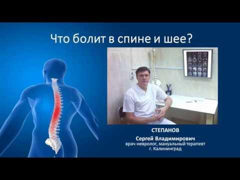 Вертебролог, невролог, мануальный терапевт Степанов г.Калининград