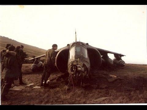 El primer Harrier GR.3 abatido (1-2 de mayo 1982) FAA-EA
