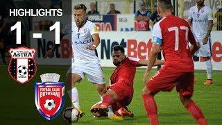 Rezumat: Astra - FC Botosani 1-1 (0-0)
