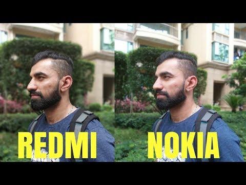 Nokia X6 Camera VS REDMI NOTE 5 Pro India Variant ! Hindi Video