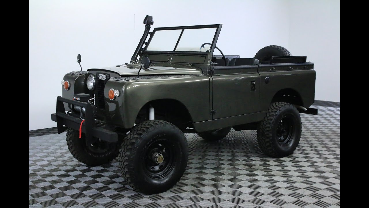 1965 Land Rover Series Ii - Worldwide Vintage Autos - TheWikiHow