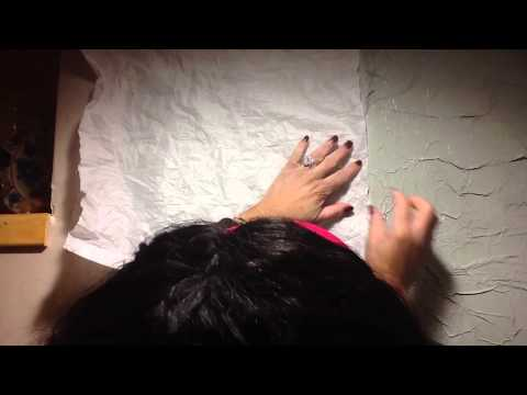 How To Enhance Walls With Tissue Paper