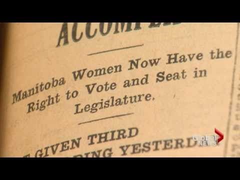 Women's right-to-vote march 100 year celebration