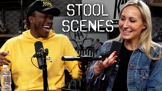 KSI Talks Logan Paul Fight at Barstool Headquarters- Stool Scenes 238