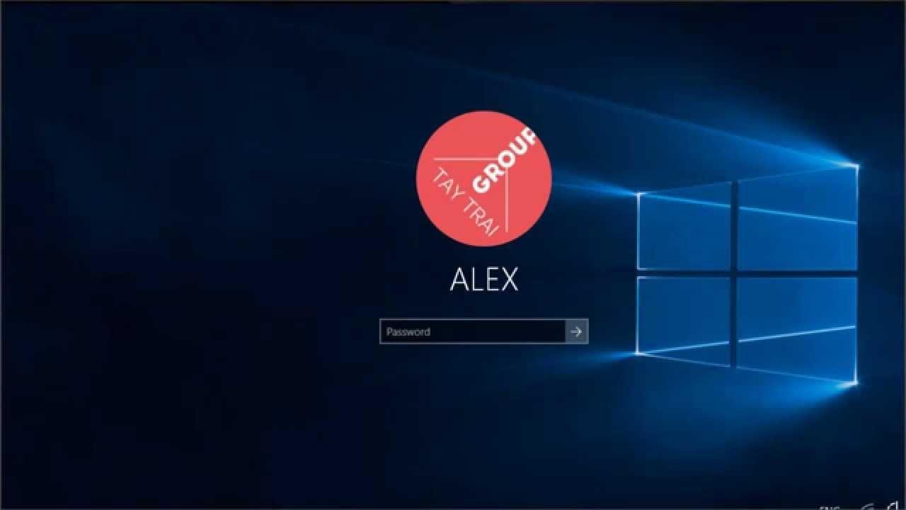 Khóa máy tính trên Windows 10