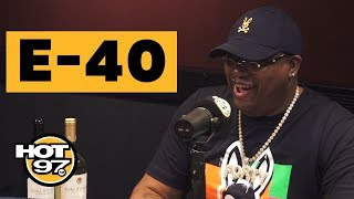 E-40 Tells Rare Biggie & Rasheed Wallace Stories + Declares Bay Area Invented The Most Slang