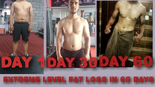 EXTREME FAT LOSS WORKOUT AND DIET PLAN MUST WATCH