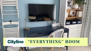 How to create a multi-function 'everything' room