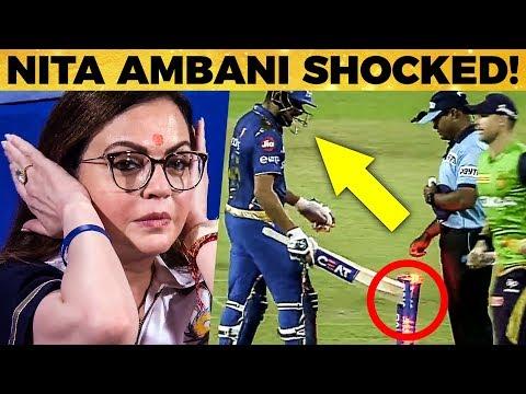 கடுப்பான Rohit Sharma - அதிர்ச்சியில் Nita Ambani | MI vs KKR | IPL 2019