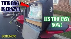 THE BEST WAY TO DELIVER POSTMATES ON A MOTORCYCLE | THIS HAS CHANGED THE GAME! | VLOGMAS 13