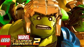 LEGO MARVEL SUPER HEROES 2 All Hulk Scenes