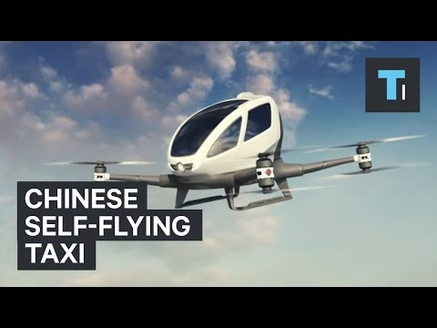 Chinese self-flying taxi