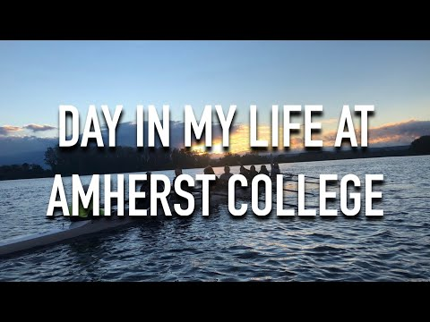 VLOG 26: DAY IN MY LIFE AT AMHERST COLLEGE