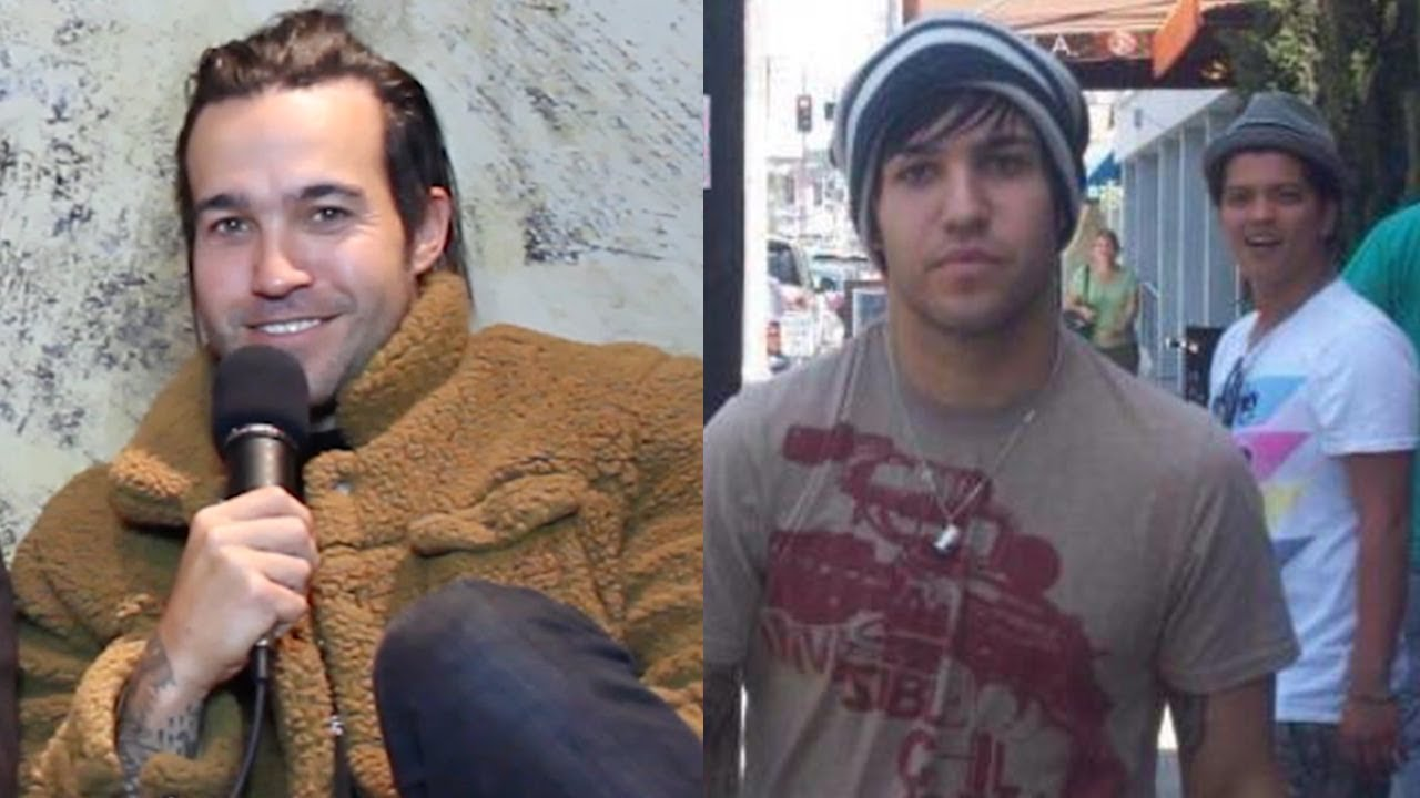 It's Ten Years Since That Photo Of Bruno Mars Gawping At Pete Wentz Went Viral