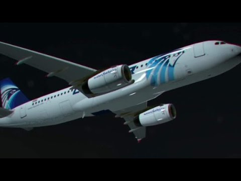 First audio of EgyptAir pilot released