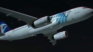 بالفيديو: أول تسجيل صوتي لقائد الطائرة المصرية المنكوبة