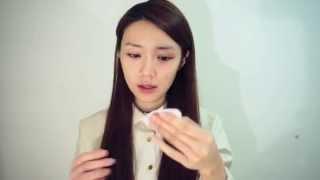 倪晨曦skincare tutorial - 春日晚間皮膚護理 spring night skincare routine