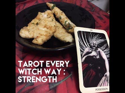 Tarot Every Witch Way Food: Strength