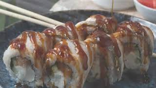Ролл Канада   Как приготовить дома суши   Рис и лосось   Доставка суши Челябинск
