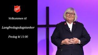 Langfredagstanker fra Frelsesarmeen Drammen
