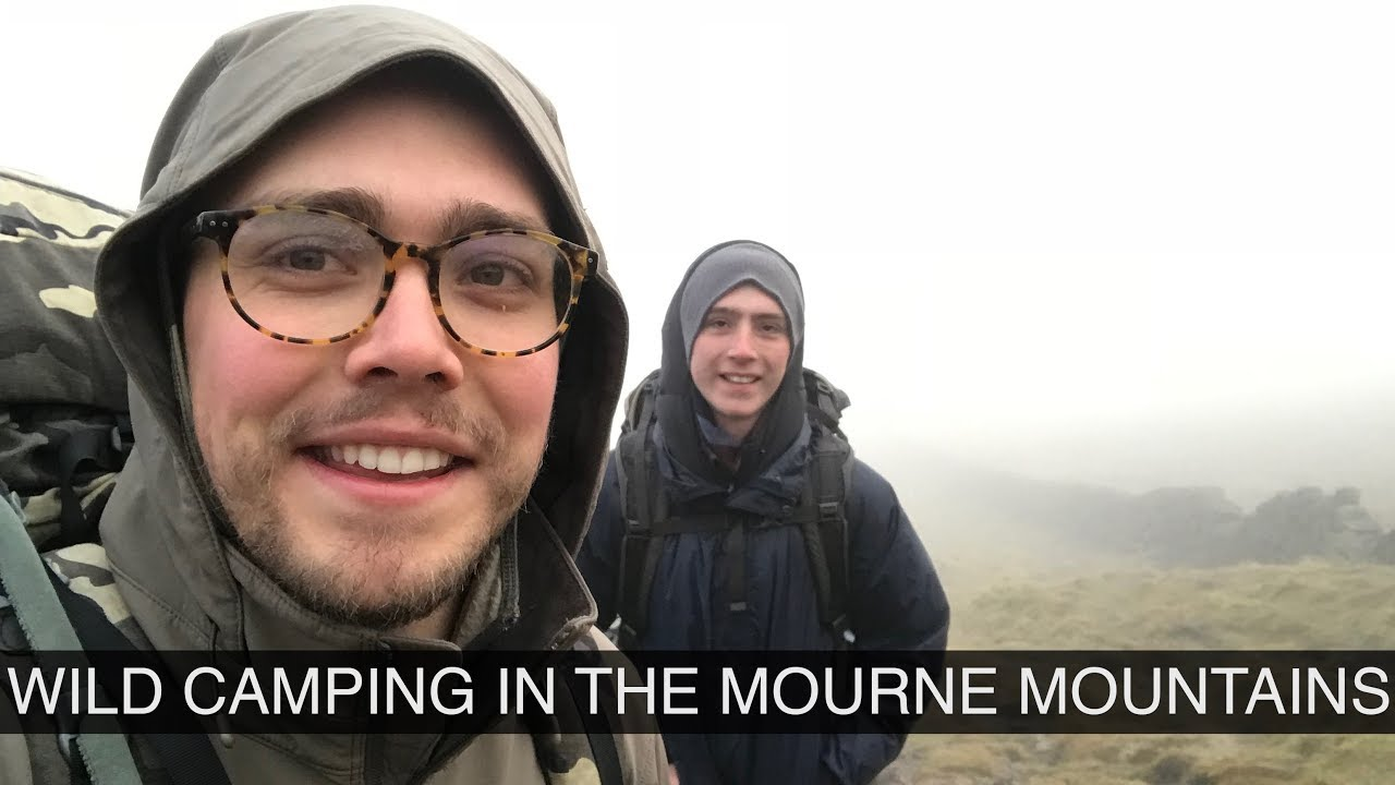 Wild camping in the Mourne Mountains of Co. Down, Northern ...