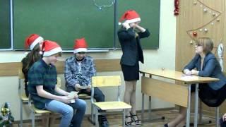 Сценка на новый год 2012)