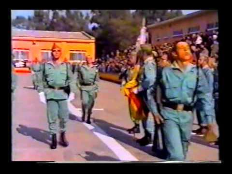 jura de bandera tercio duque de alba 4/96 3.wmv - YouTube
