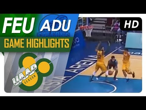 UAAP 80 MEN'S BASKETBALL ROUND 1: FEU vs AdU Game Highlights - October 7, 2017