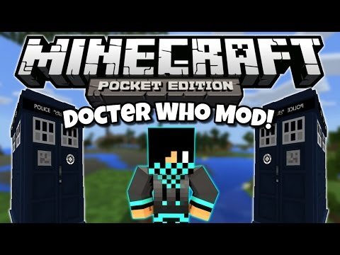 Doctor Who Mod - Minecraft Pocket Edition - Mod Showcase [0.10.5]