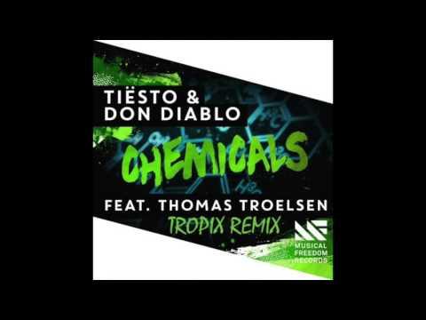 tiesto don diablo chemicals. Tiesto ft. Don Diablo and Thomas Tr. - Chemicals (Record Mix) слушать онлайн mp3