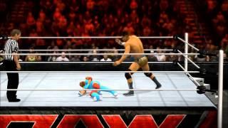 MLP vs WWE 2K15 Intergender  Test, Cody Rhodes vs. Rainbow Dash!