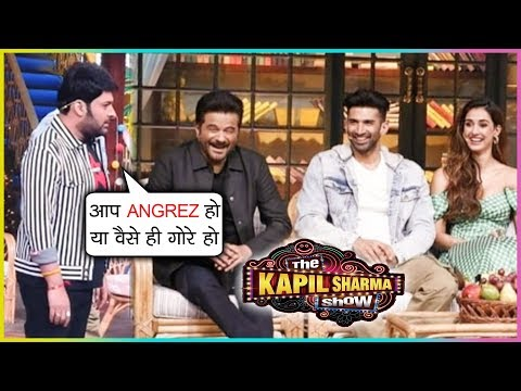 Kapil Sharma FUNNY ENGLISH With Anil Kapoor, Disha, Aditya | The Kapil Sharma Show