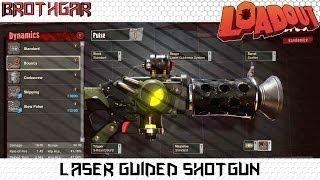 Laser Guided Shotgun Loadout Weapon Crafting