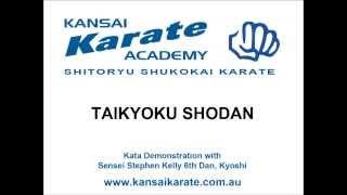 Taikyoku Shodan - Shito-ryu Shukokai Karate Kata