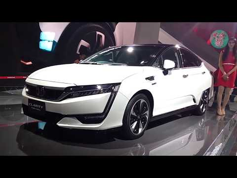 New Honda Clarity Fuel Cell 2018 (Hydrogen) Exterior and Interior