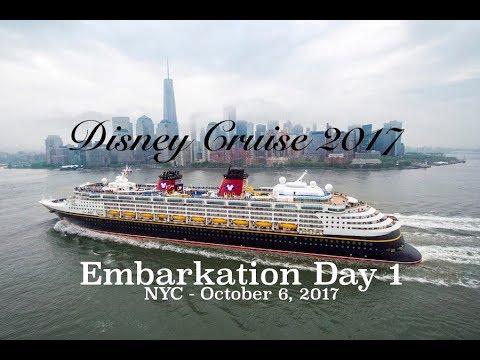 Disney Magic Cruise NYC Embarkation Day YouTube - Cruise ships from nyc