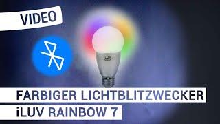 Produktvideo zu LED-Leuchtmittel Humantechnik iLuv Rainbow7 Silber