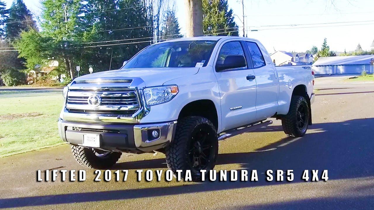 Lifted 2017 Toyota Tundra Sr5 4x4 Youtube