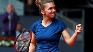 2017 Mutua Madrid Open Quarterfinals | Simona Halep vs CoCo Vandeweghe | WTA Highlights