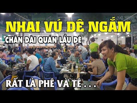 """Nhai Vú Dê ngắm chân dài Quán """"Lẩu OK 3 Kon Dê"""" cùng anh Việt Kiều đẹp dai ở Mỹ về Sài Gòn chơi"""