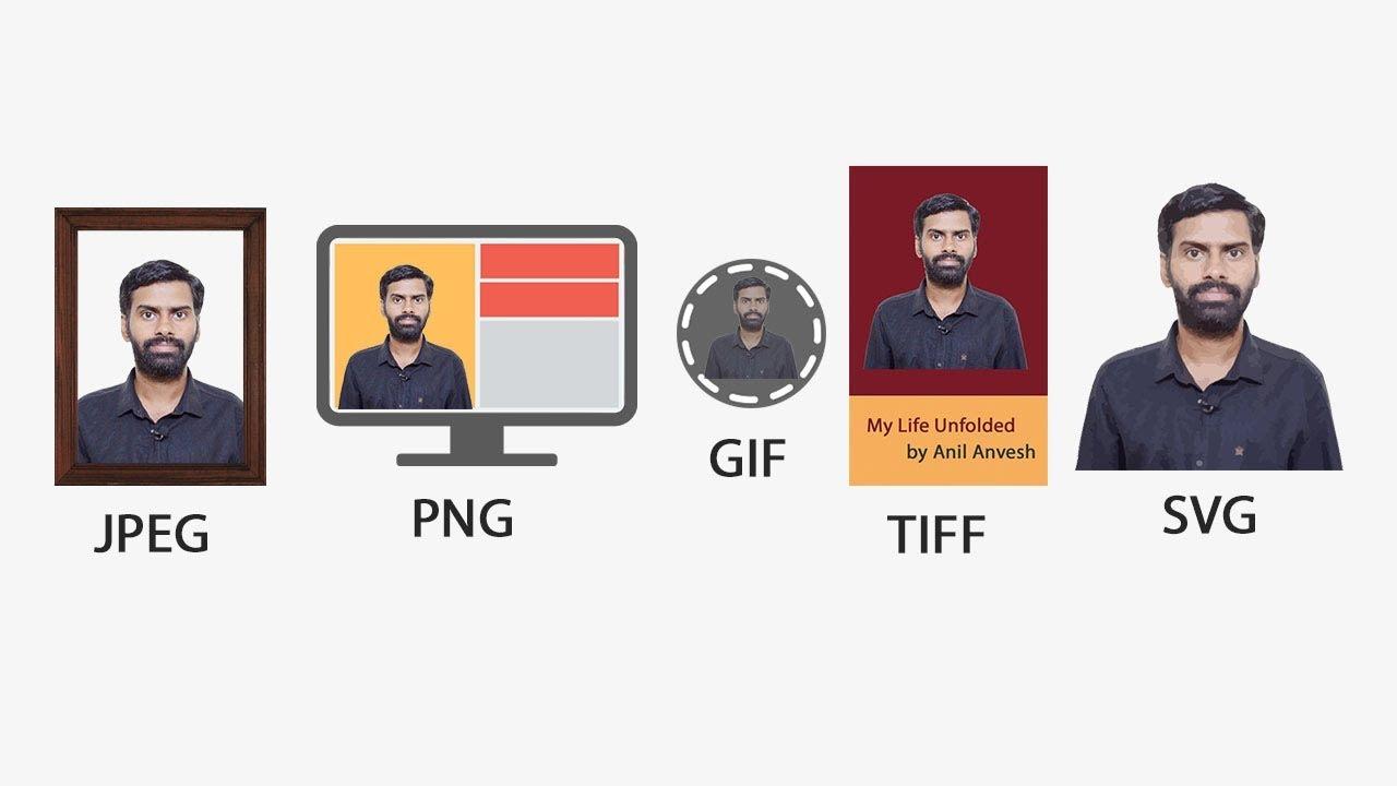 JPEG vs PNG vs GIF vs TIFF vs SVG - YouTube