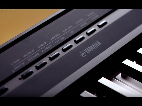 Kraft Music - Yamaha P-115 Digital Piano Demo with Adam Berzowski