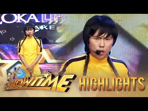 It's Showtime Kalokalike Take 2: Bruce Lee