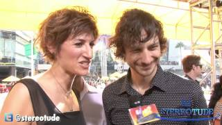 Gotye Short interview after the VMAs