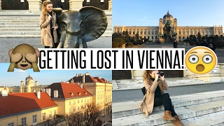 VLOG: GETTING LOST IN VIENNA!