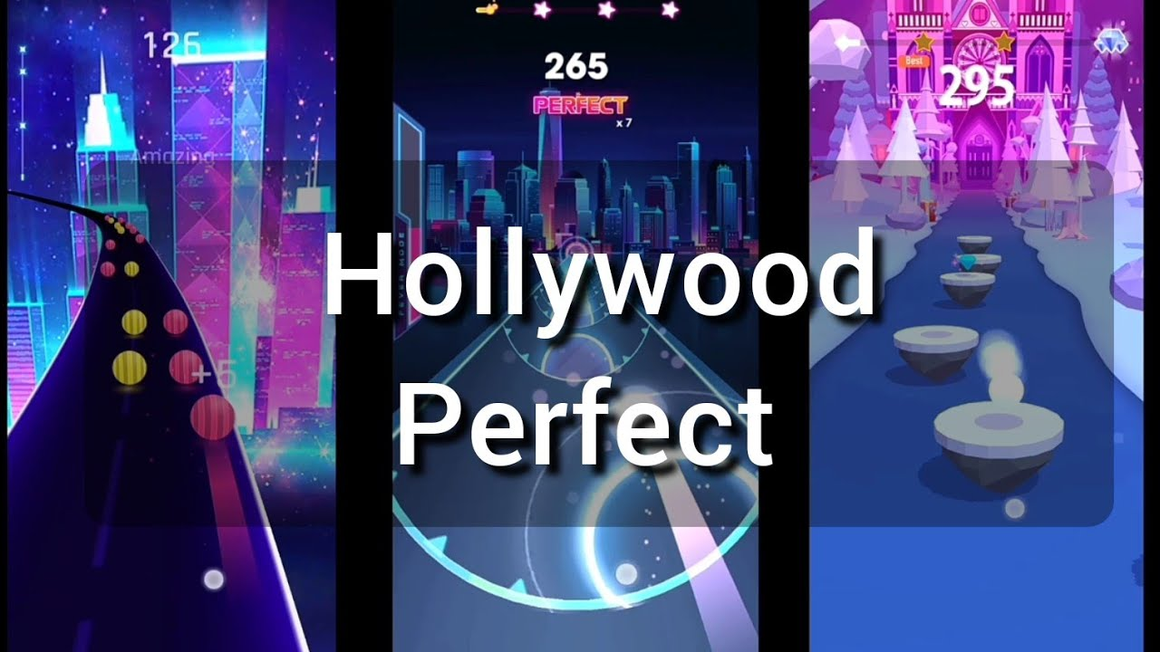 Hollywood Perfect Dancing Road Beat Roller Hop Ball 3d No Copyright Musica Youtube