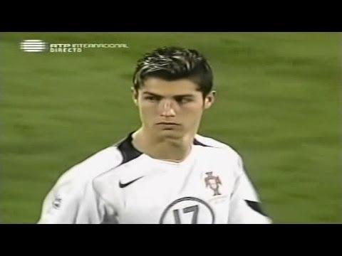 Cristiano Ronaldo Vs Liechtenstein Away (09/10/2004)
